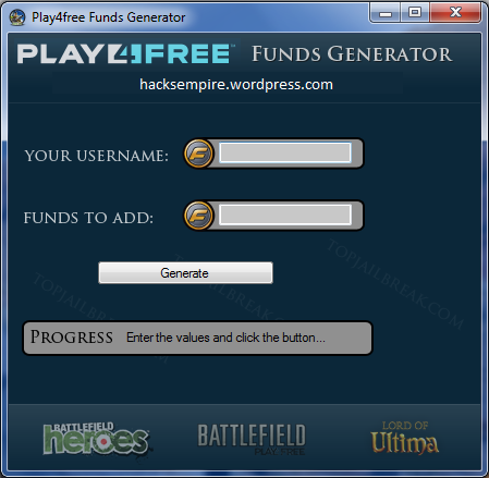 play4freefunds Play4free Battlefield Heroes Funds Generator 2013